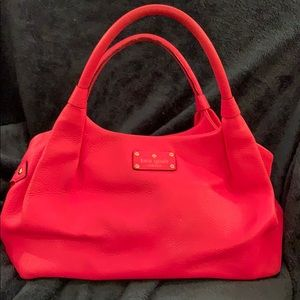 Hot pink Kate Spade Hobo bag